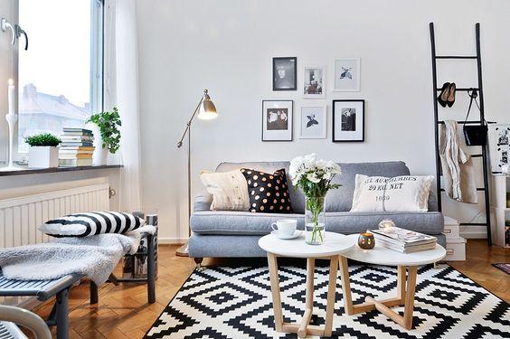 Ce printemps, le style scandinave viendra une nouvelle fois habiller nos salons. www.soodeco.fr